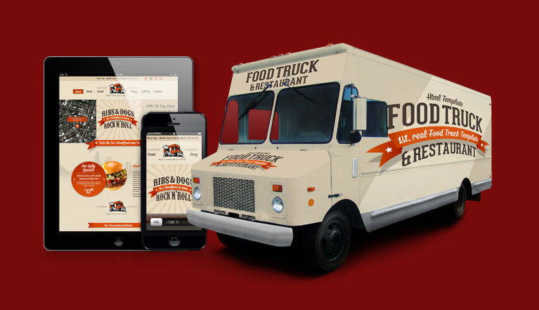 foodtruck 1st real food truck template restaurant 10 great styles